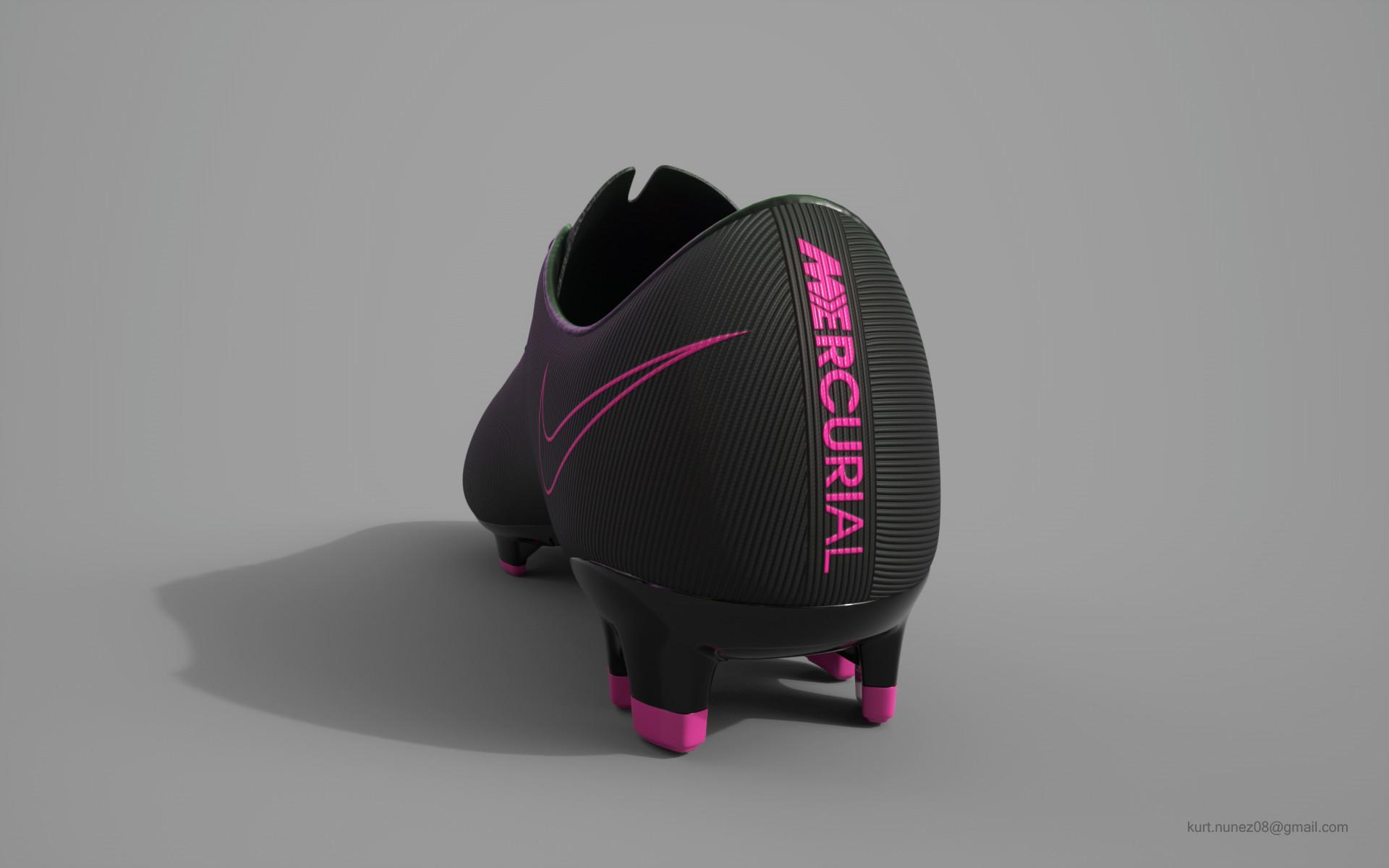 super popular 6346d 1ad40 ArtStation - Mecurial Vapor X 2016 | Nike Shoe, Kurt Nuñez