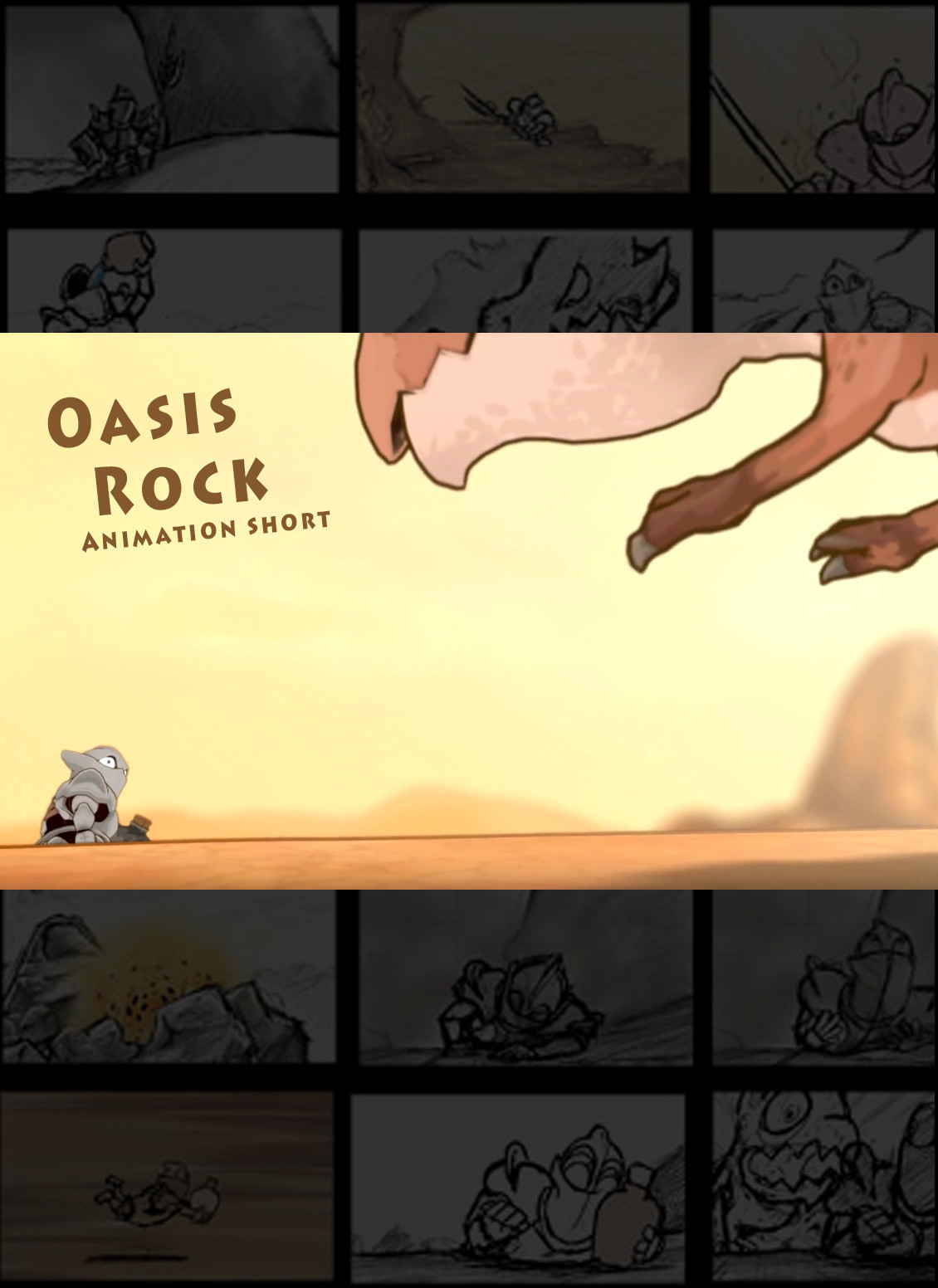 Oasis Rock - Animated Short