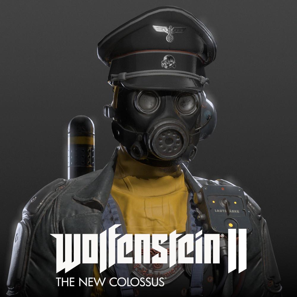 Wolfenstein II - Atomkommendant
