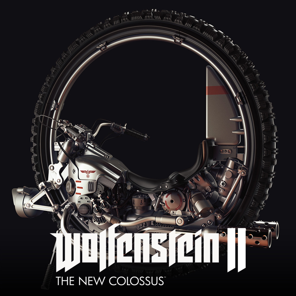 Wolfenstein 2 : The New Colossus -  Monowheel