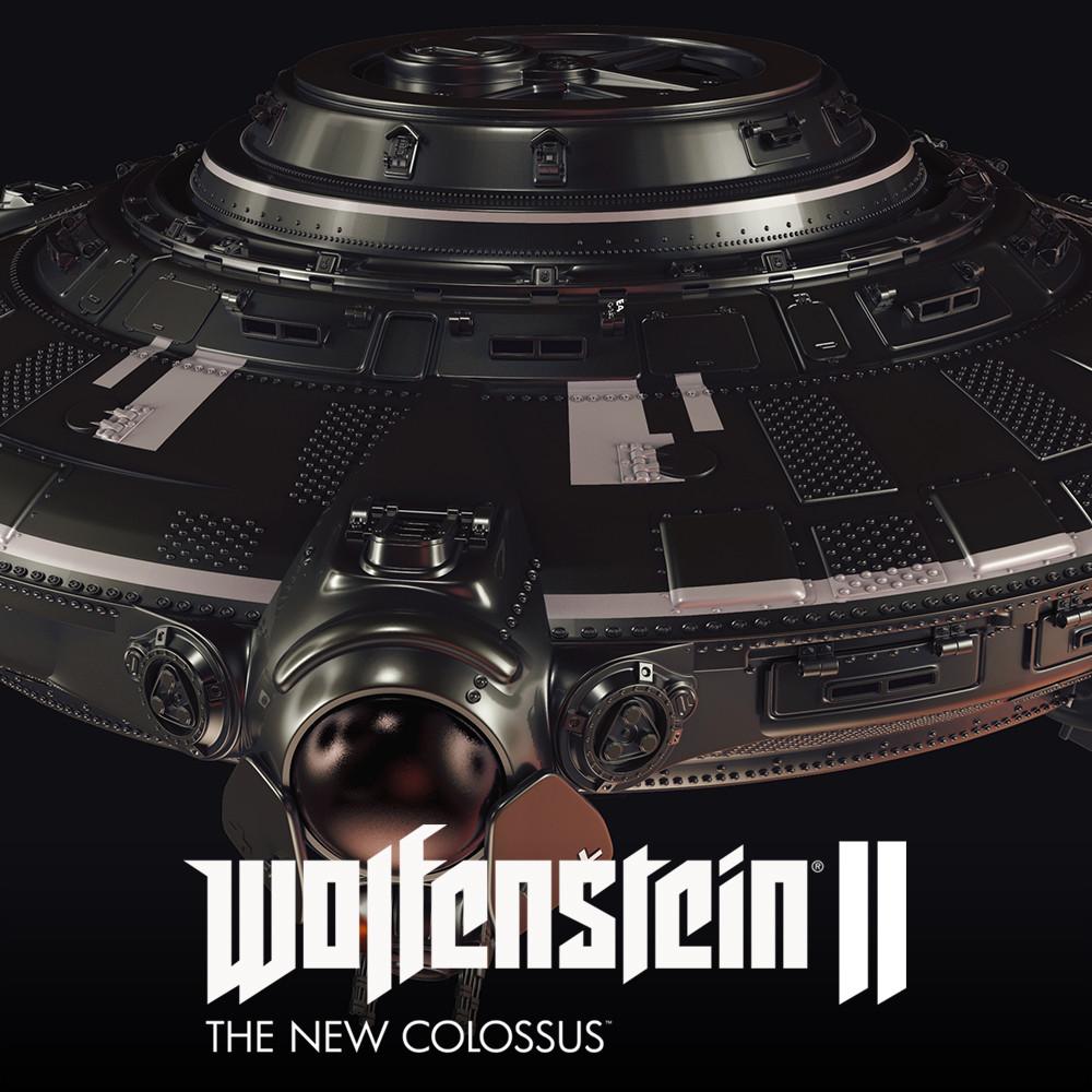 Wolfenstein 2: Haunebu V3 Exterior
