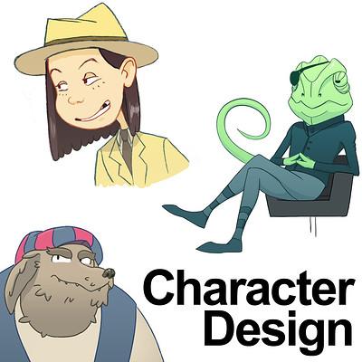 Matthew ramirez character design thumbnail