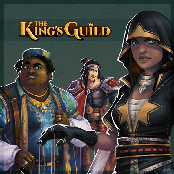 The King's Guild - Character Art