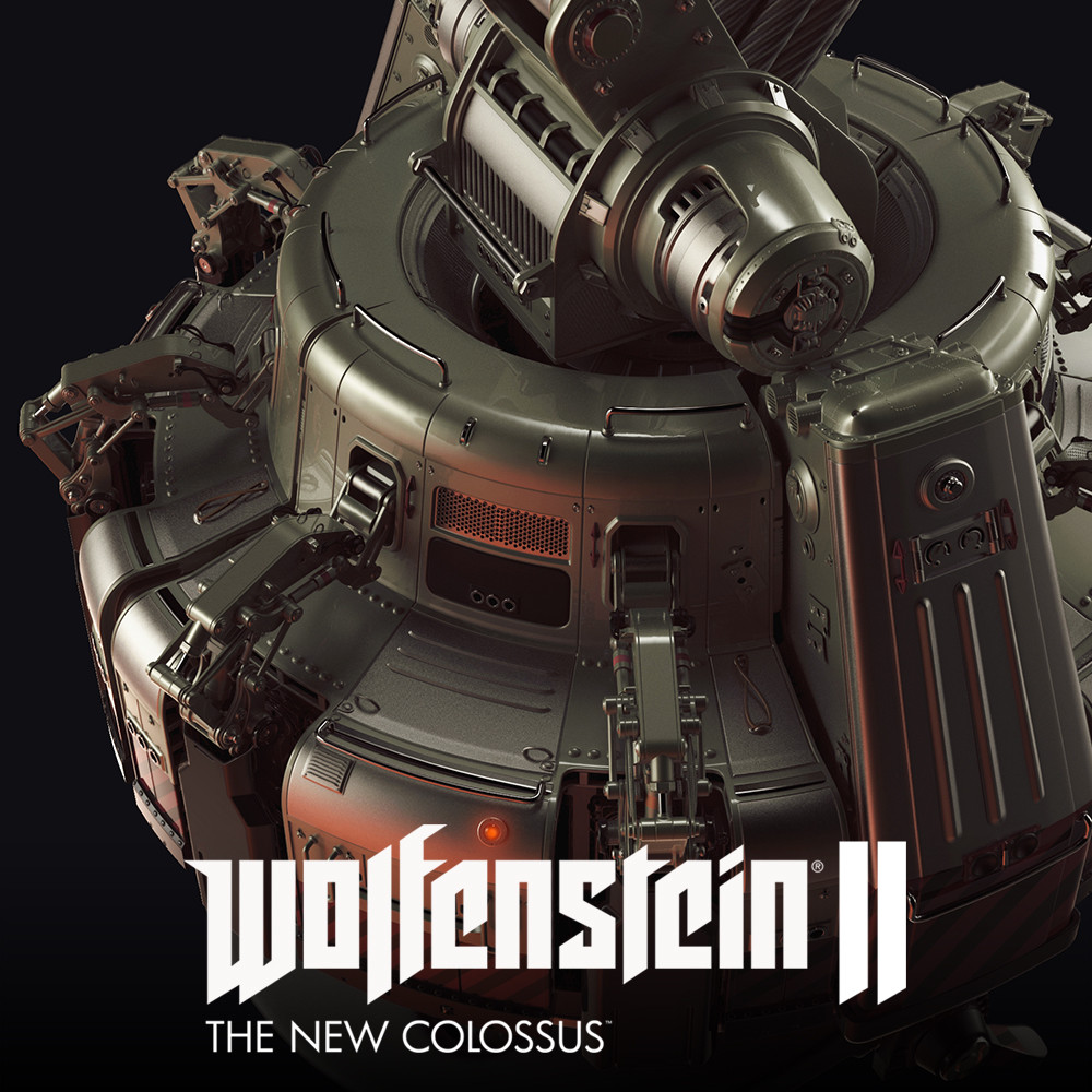 Wolfenstein 2: Magnetic Clamp