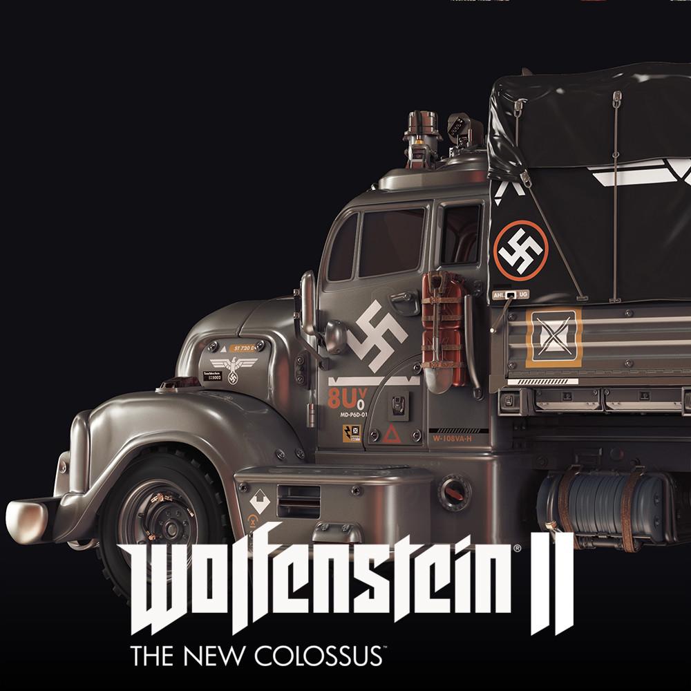 Wolfenstein 2: Nazi Truck