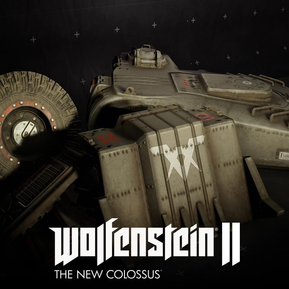Wolfenstein 2:  Venus assets