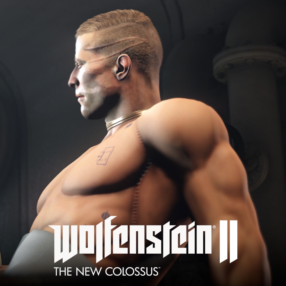 "Wolfenstein II - William Joseph ""B.J."" Blazkowicz's new body"