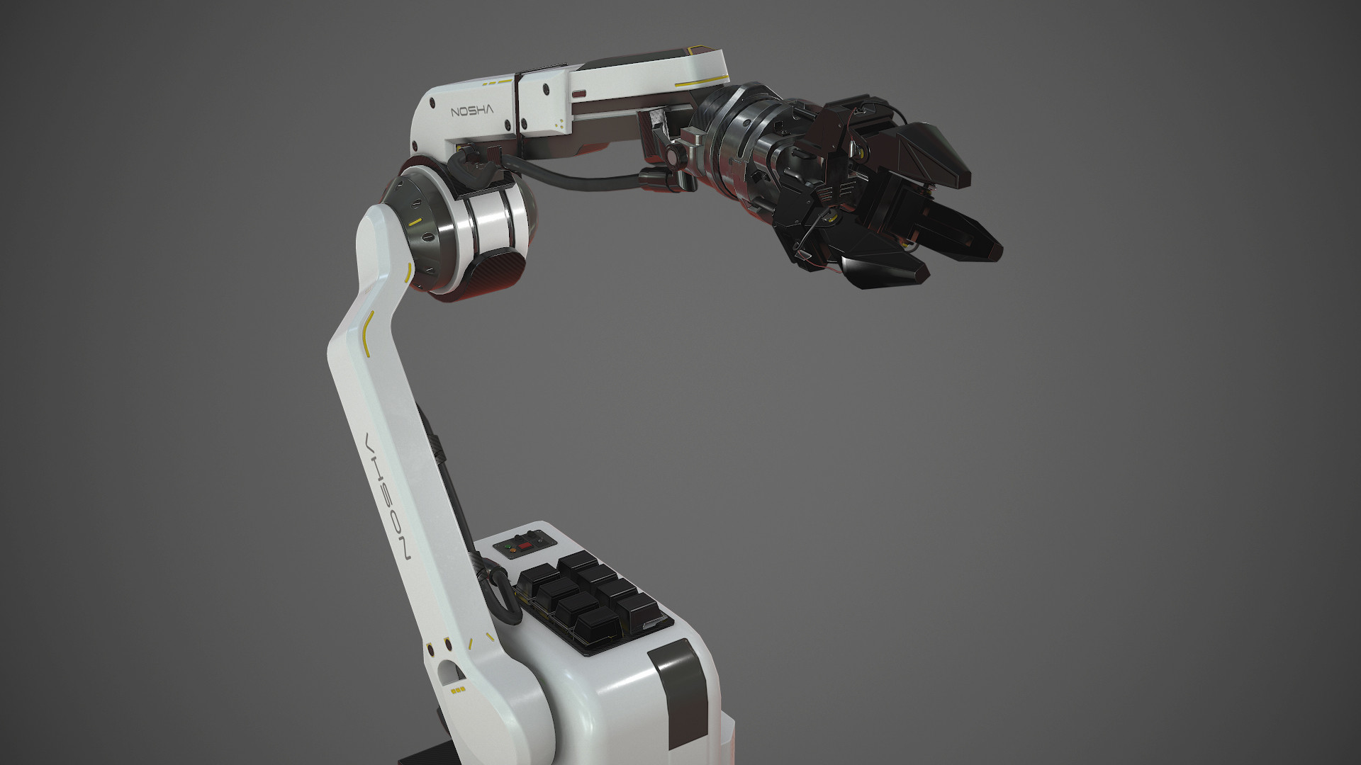 machine extends robotic arms - HD1920×1080