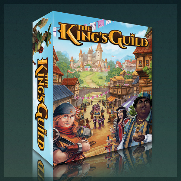 The King's Guild - Board Game Art