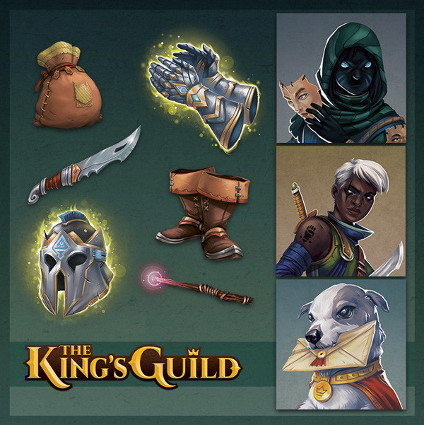 The King's Guild - Card Art