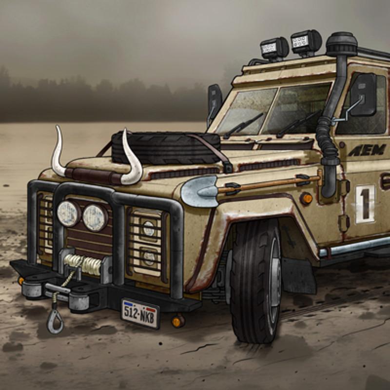 Farm Truck Racer