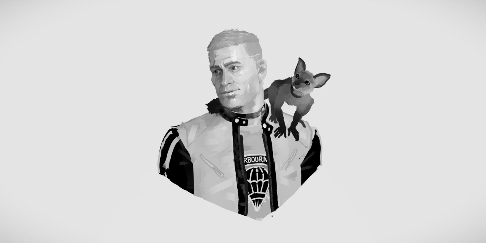Quill - BJ Blazkowicz Fan Art