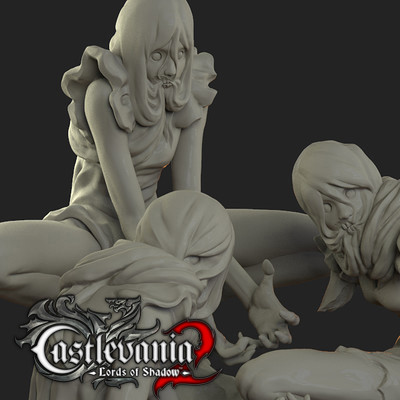Sculpts - Castlevania Lords of Shadow 2