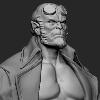 Hellboy (wip)