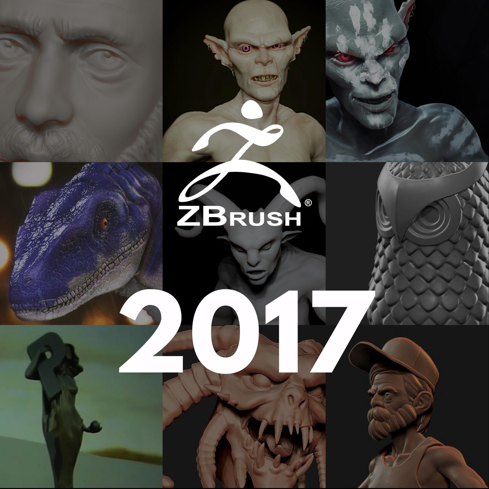 2017 Zbrush dump