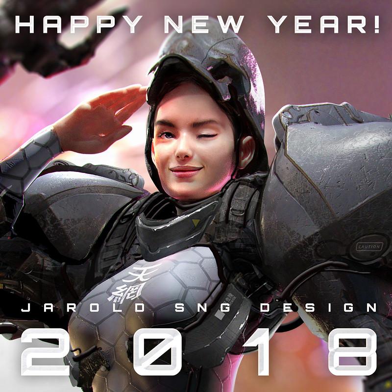 Happy New Year - 2018!