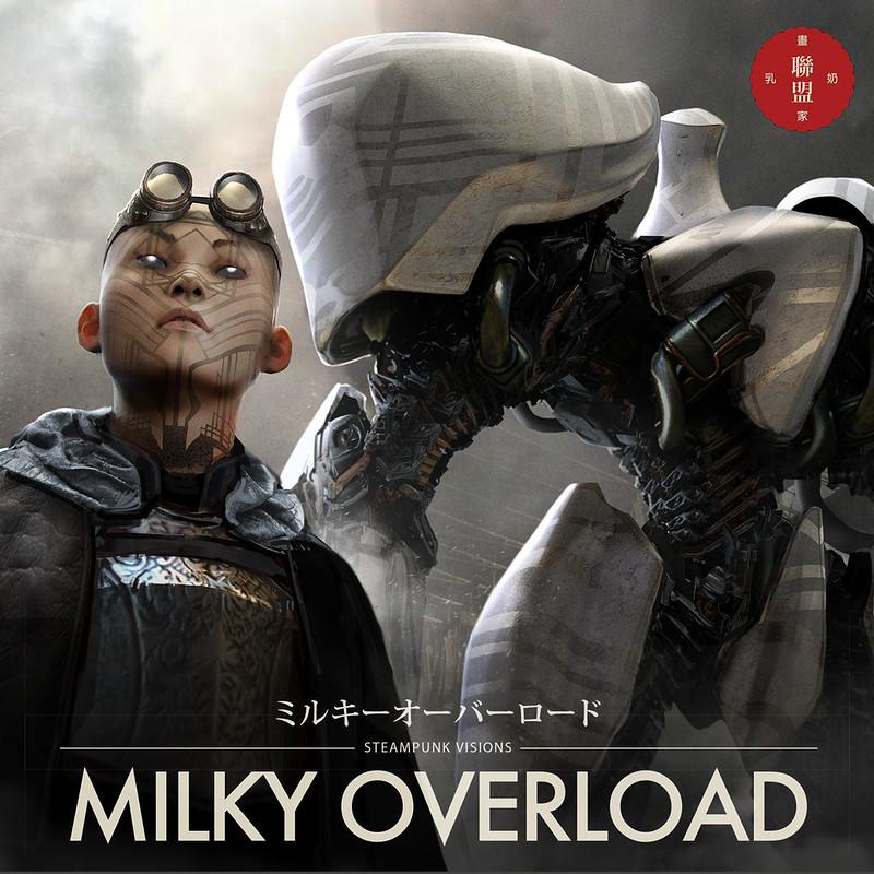 MILKYOVERLOAD ARTBOOK : Heresy Agent and Executioner Knight