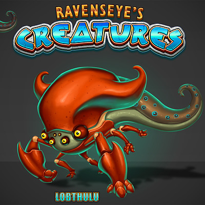 Travis lacey ravenseyes creatures 06 small