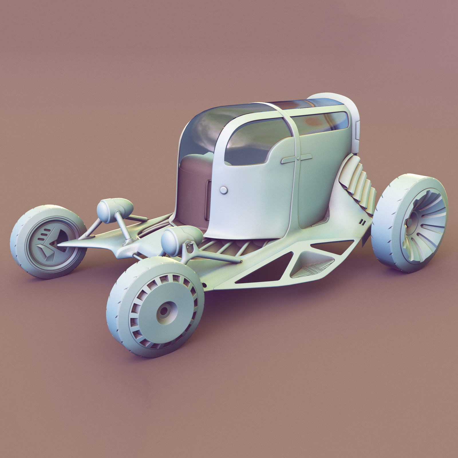 Scott Robertson Sci-Fi Car.