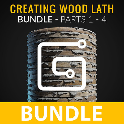 Joshua lynch wood lath bundle artstation thumbnail
