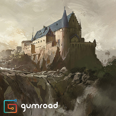 Greg rutkowski castle demo artstation