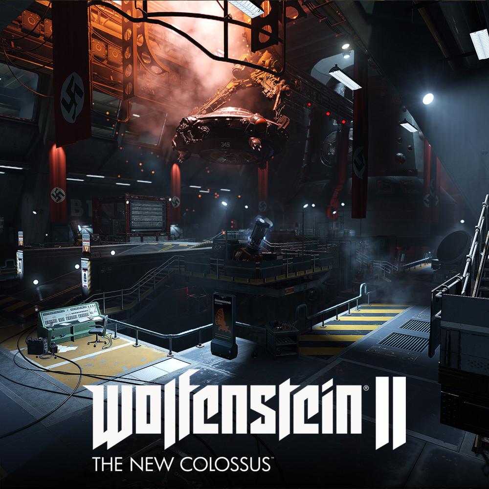Wolfenstein 2: Area 52 Hanger