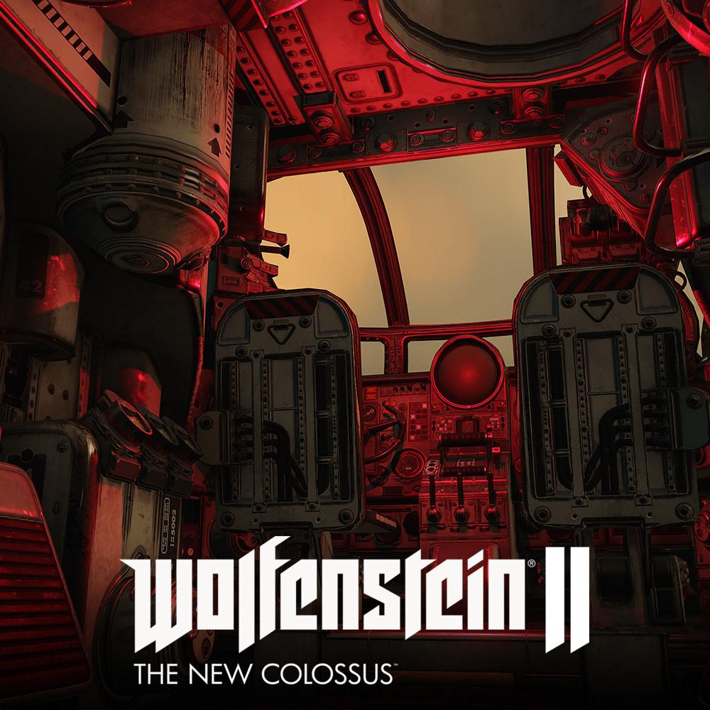 Wolfenstein 2: LowPoly SilverFish Interior