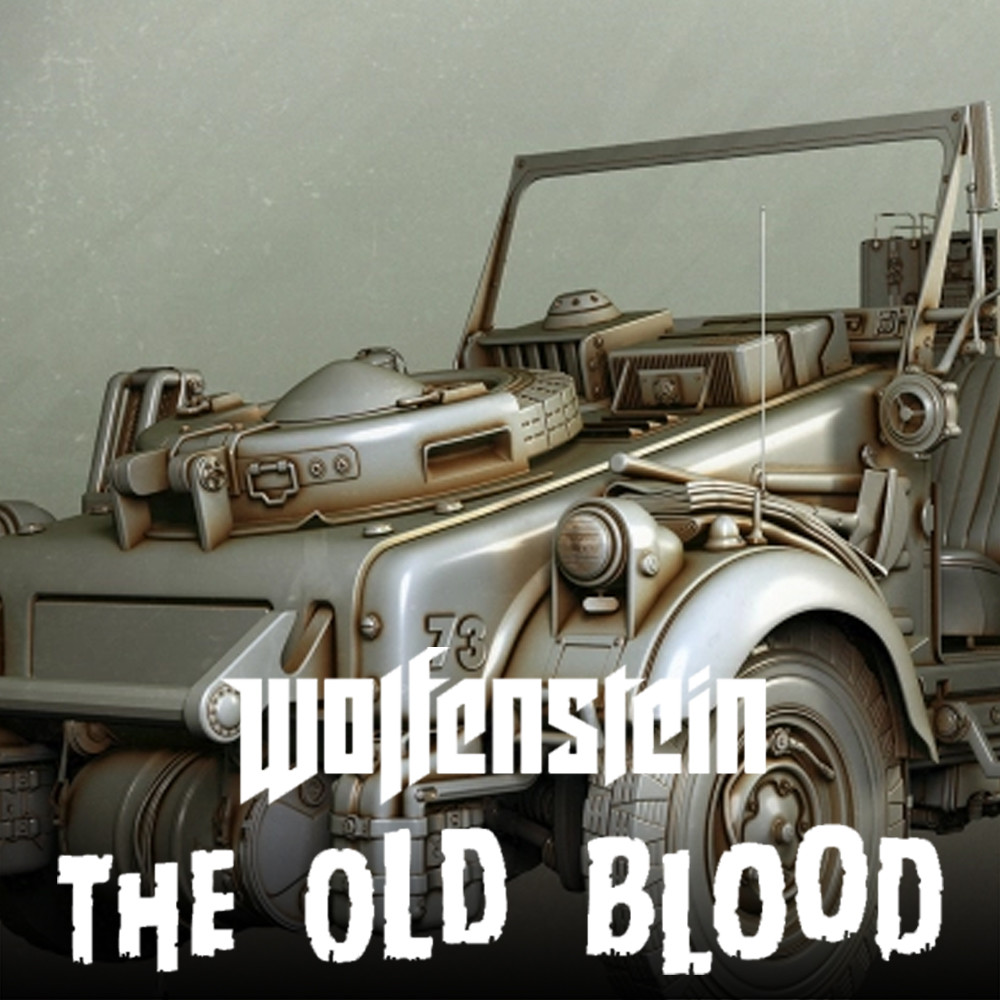 Wolfenstein The Old Blood : Highpoly Kubelwagen