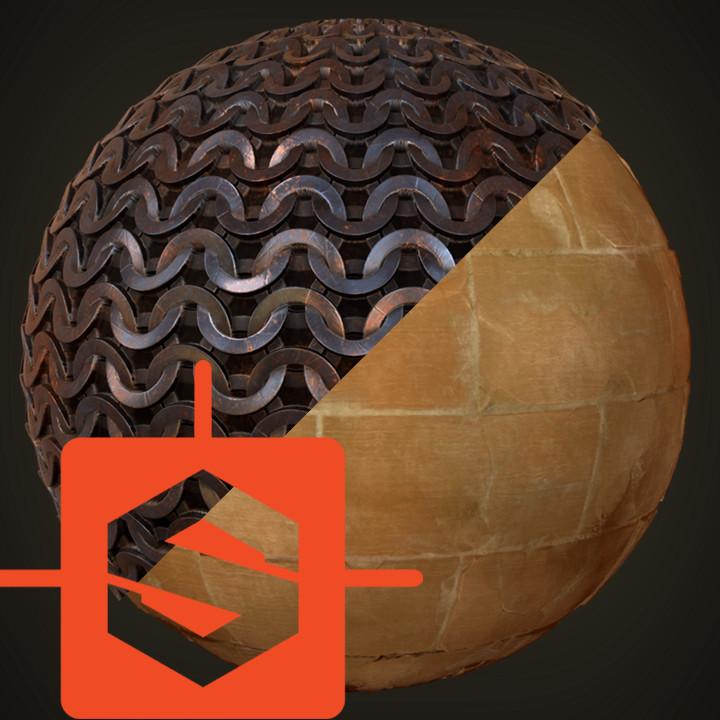 Chainmail / Pyramid bricks Substances