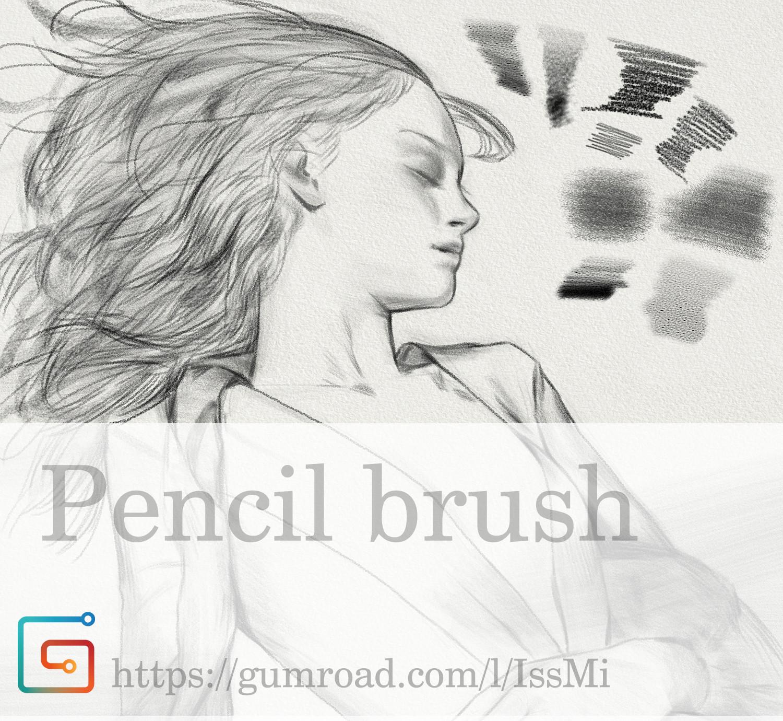 ArtStation - pencil brush, Seungyoon Lee _