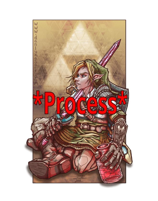 Soul of A Hero Process (Legend of Zelda Fanart)