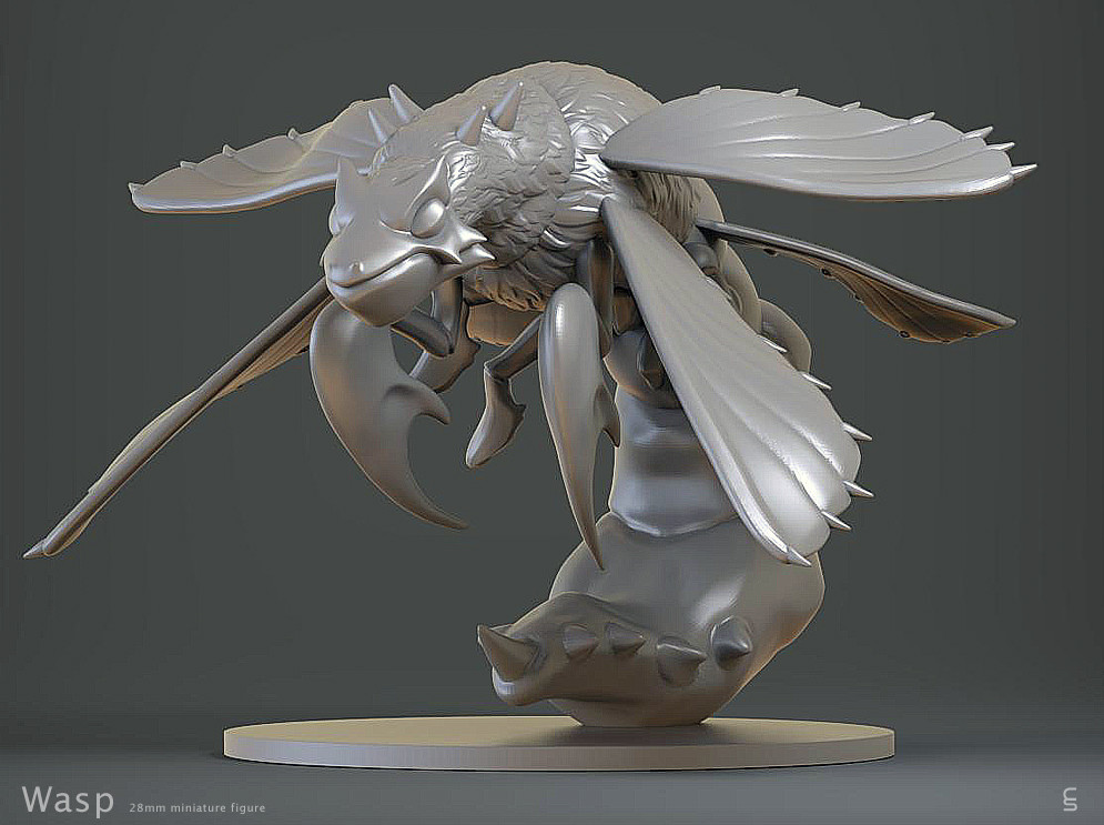 Wasp 28mm Figure