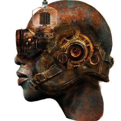 Jonathan artemis pierce steampunk cyborg