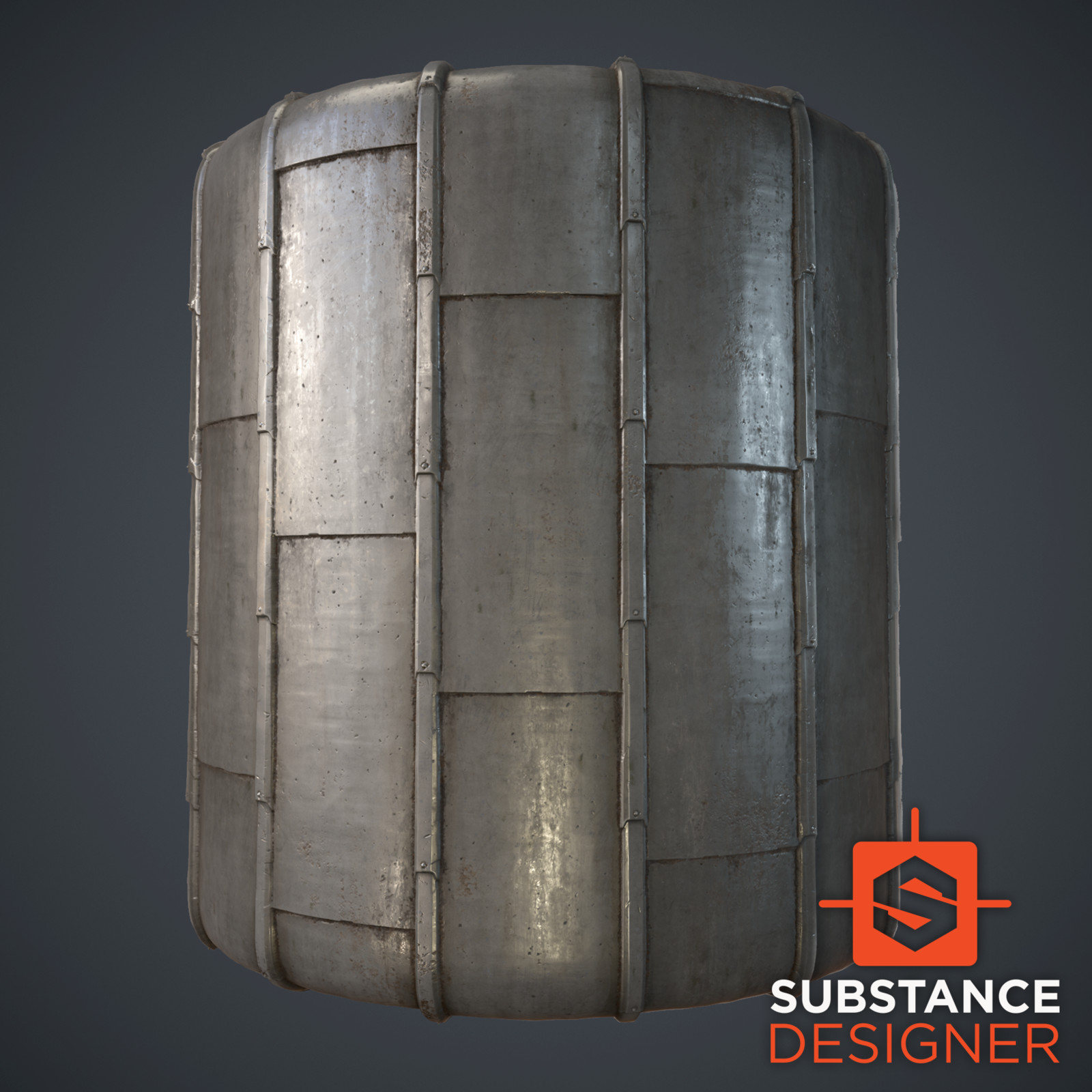 Zinc Roof (Substance Designer)