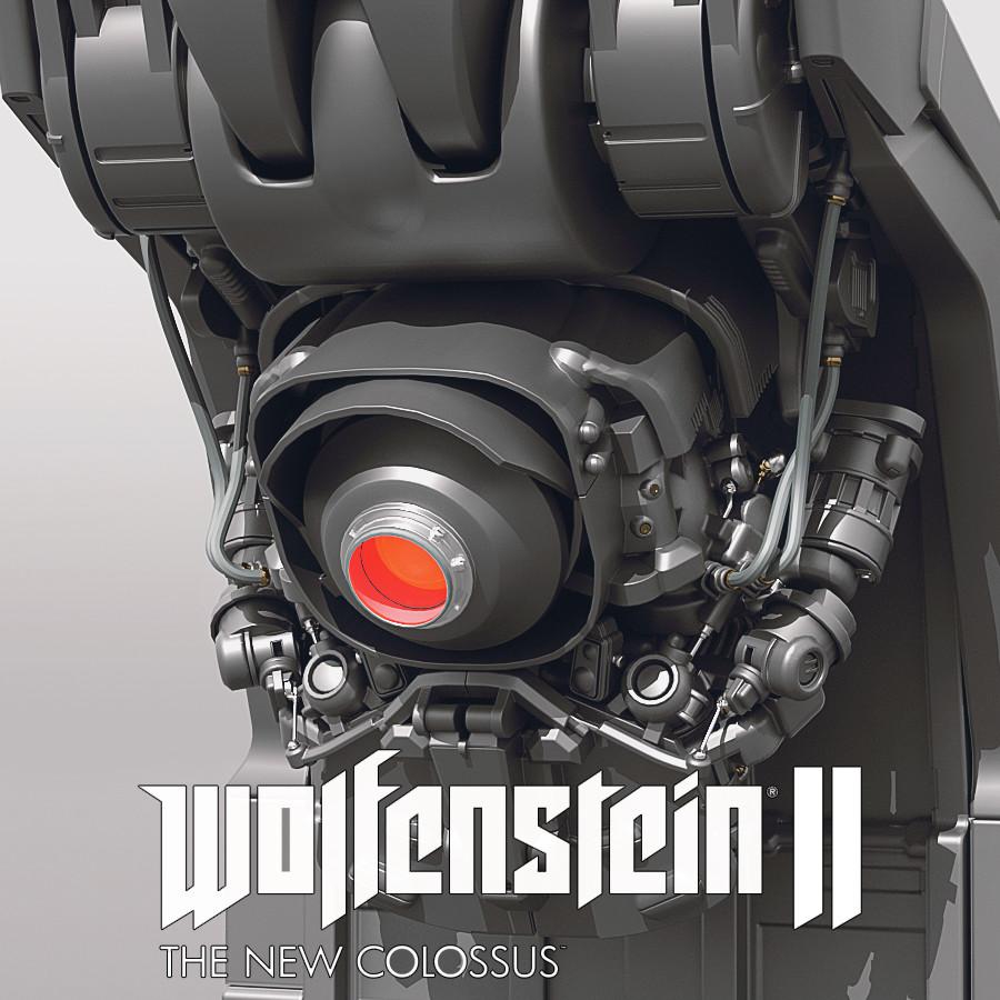 Wolfenstein 2 - Wall Cam Bot