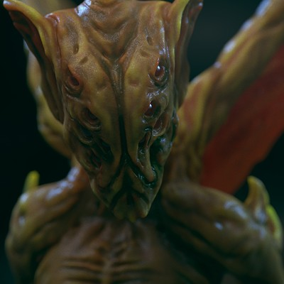 Ilhan yilmaz creature close render v01