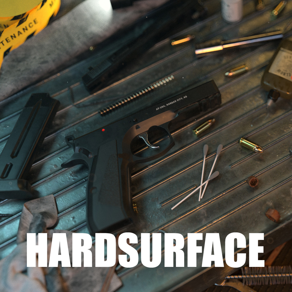 Hardsurface Illustrations