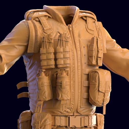 Combat Arms Medium Outfit