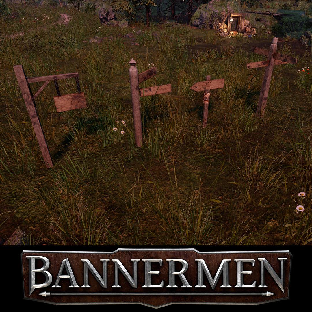 Bannermen // Signpost Kit