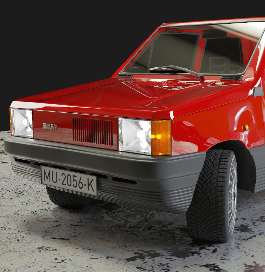 1980 SEAT Panda