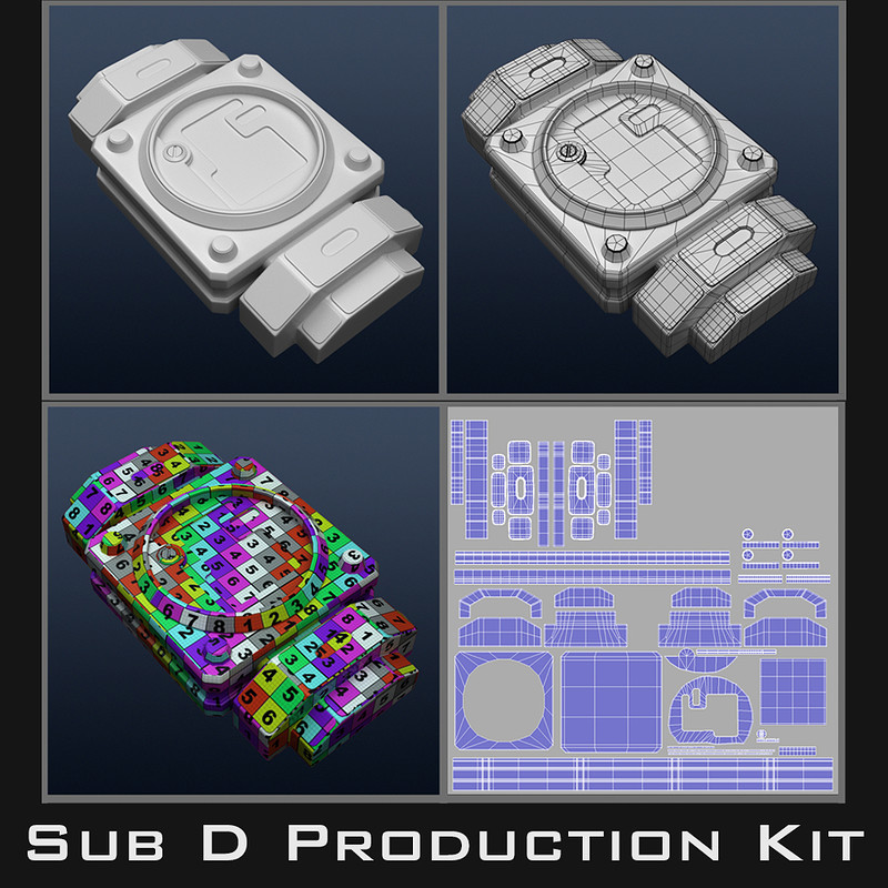 Sub D Film Production Kit