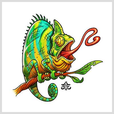 Jonatan iversen ejve chameleon
