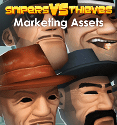 Sniper VS Thieves - Marketing Assets