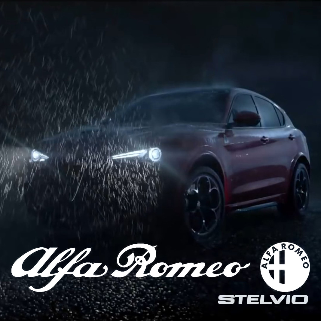 Alfa Romeo Stelvio reveal trailer