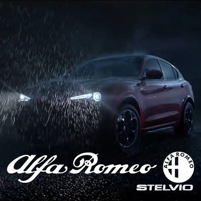 Alfa Romeo Stelvio reveal trailer