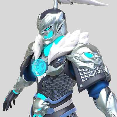 Hong chan lim tiger genji color render01