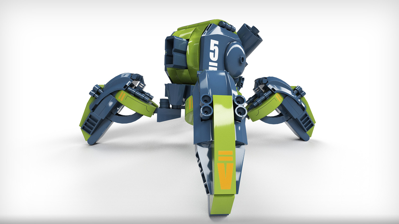 Lego Mecha - Toy version
