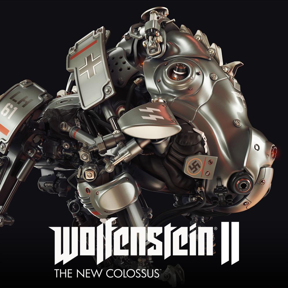 Wolfenstein 2: Laserhund 61