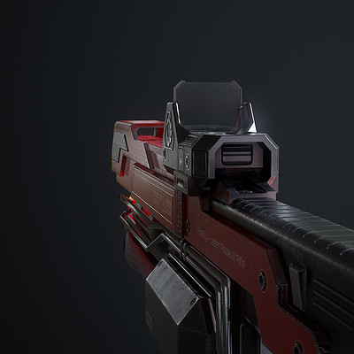 Waqas iqbal rx laserrifle render 02