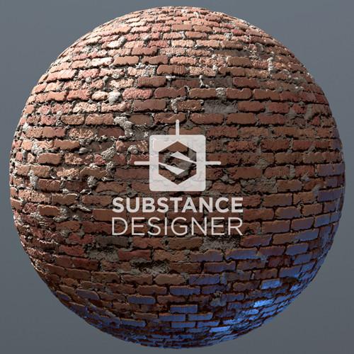 VR City Alley Brick Textures